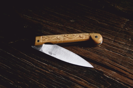 navaja tallada