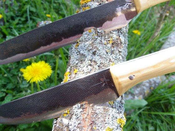 Detalle juego de cuchillos