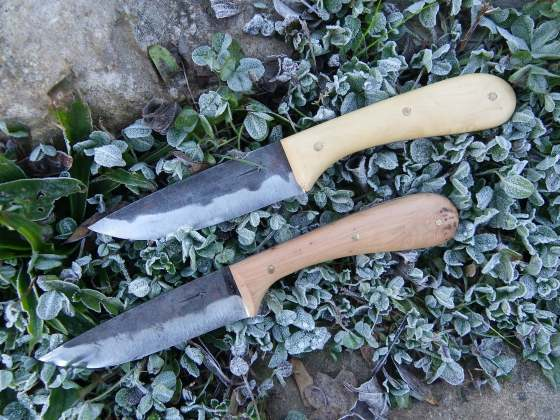cuchillo en bruto