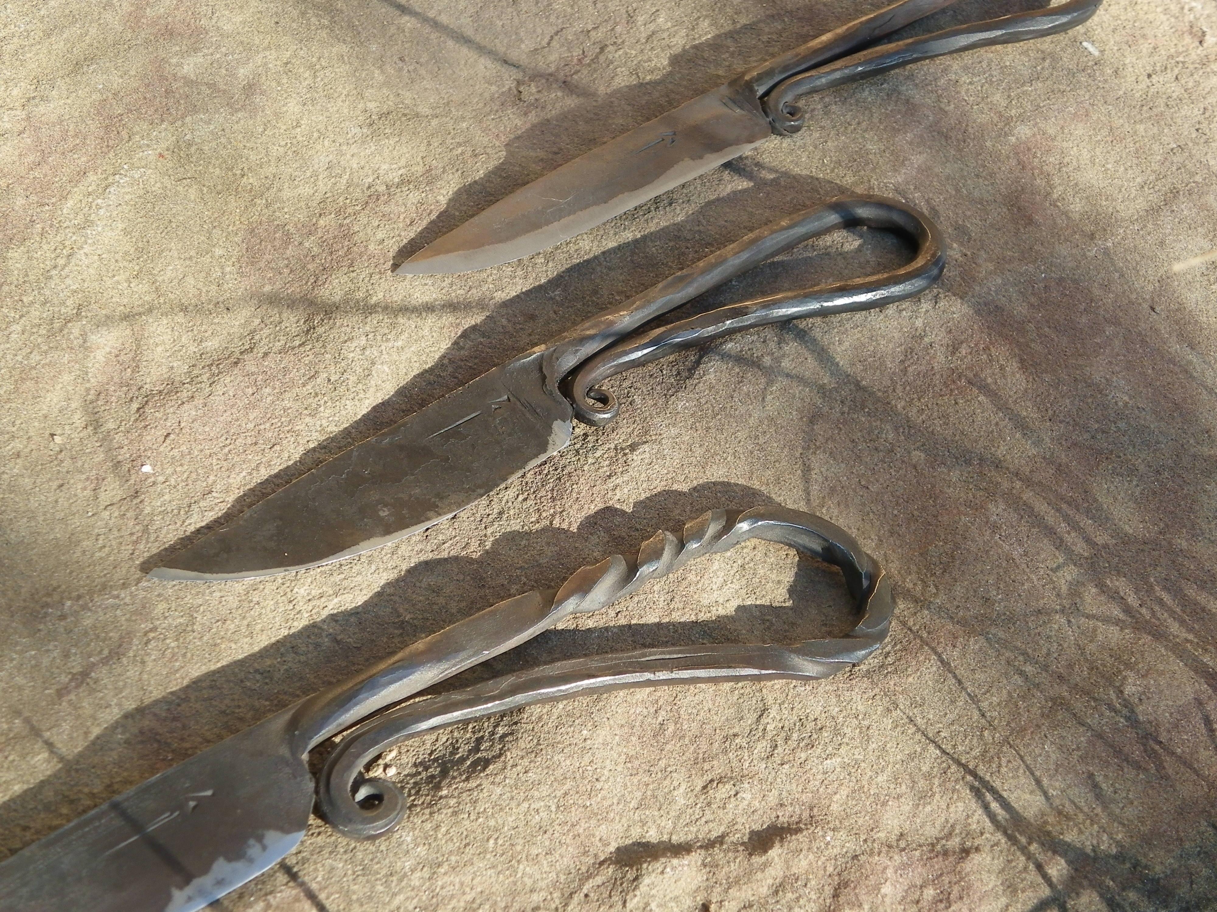 Piezas especiales cuchillos del pirineo for Como pulir un cuchillo