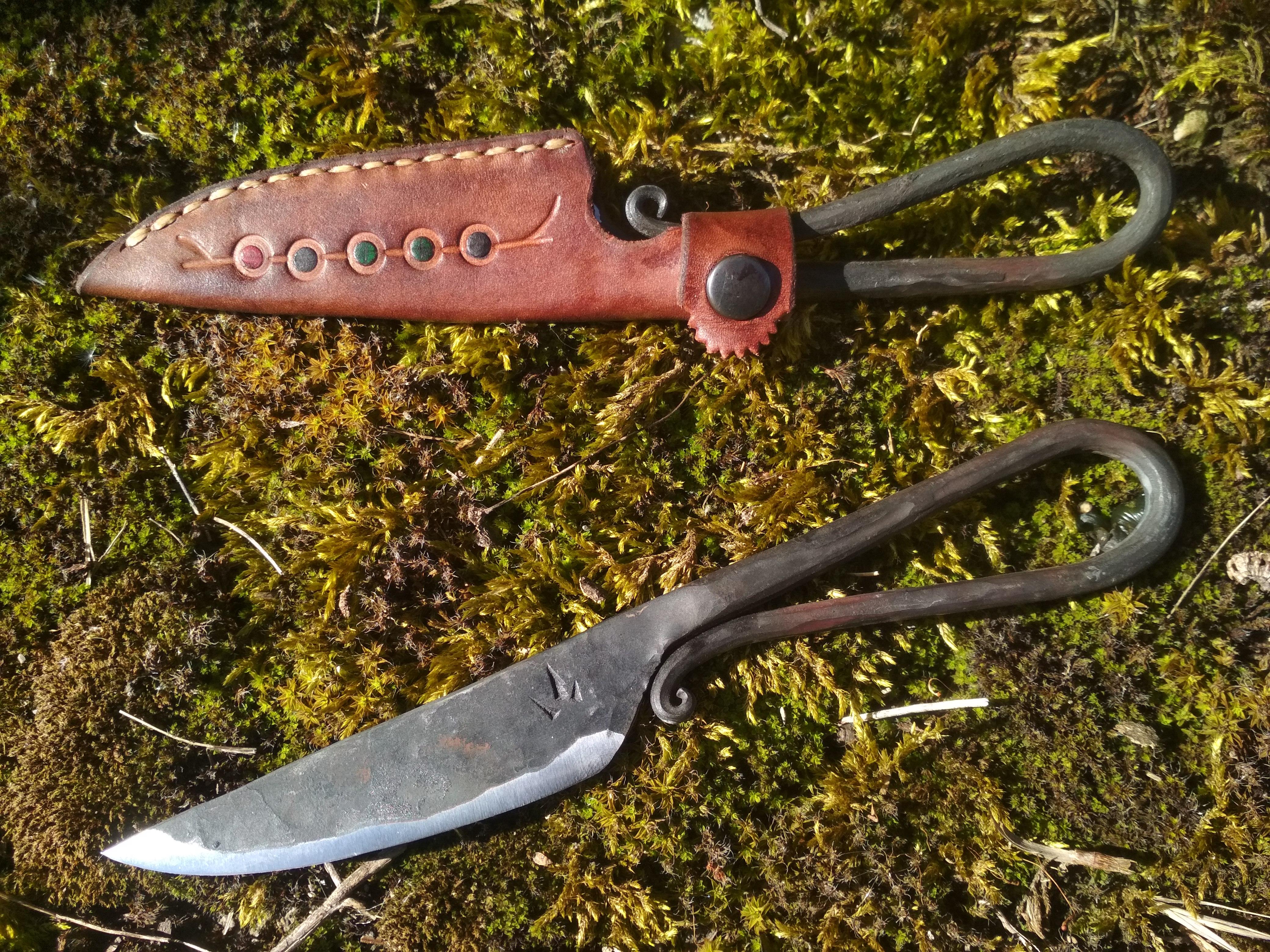 cuchillo escandinavo